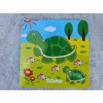 Puzzle B teknős