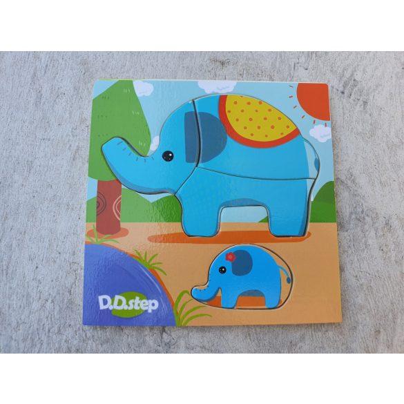 Puzzle B elefánt