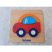 Puzzle autó