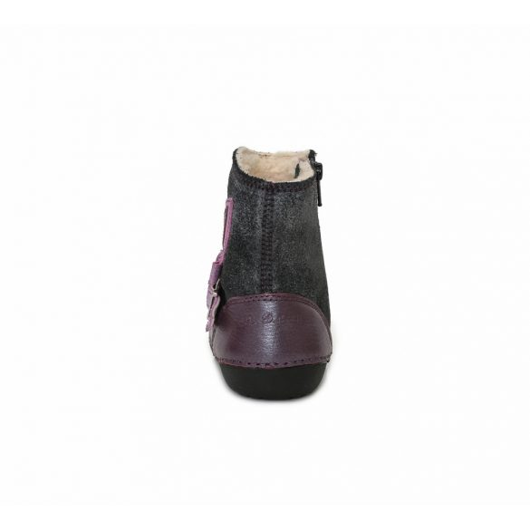 D.D.Step vízlepergetős bélelt bőrcsizma 015-158A