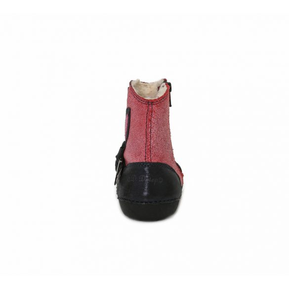 D.D.Step bélelt bőrcsizma 015-158