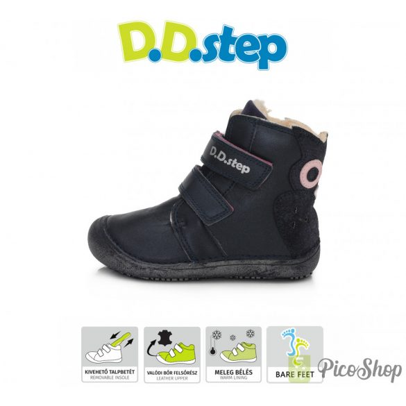 D.D.Step vízlepergetős bélelt csizma 063-822