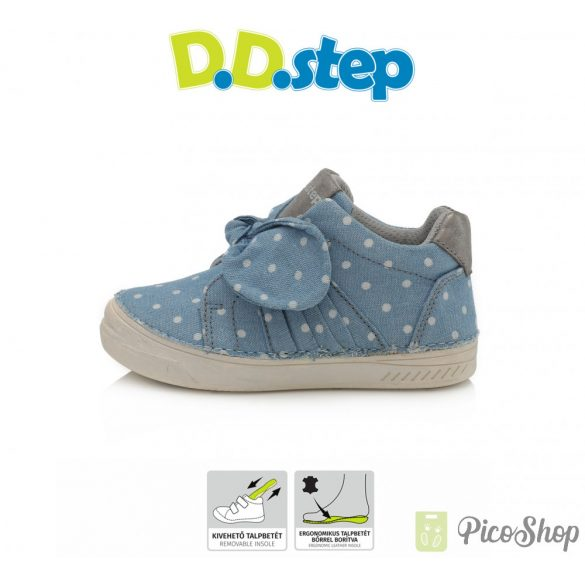 D.D.Step vászoncipő C040-47