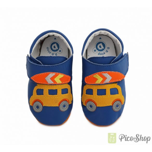 D.D.Step puhatalpú bőrcipő K1596-973A